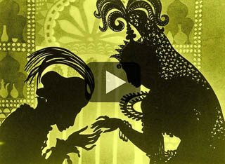 "Watch an excerpt of ""The Adventures of Prince Achmed,"" an animation with sound score by Miles and Karina."
