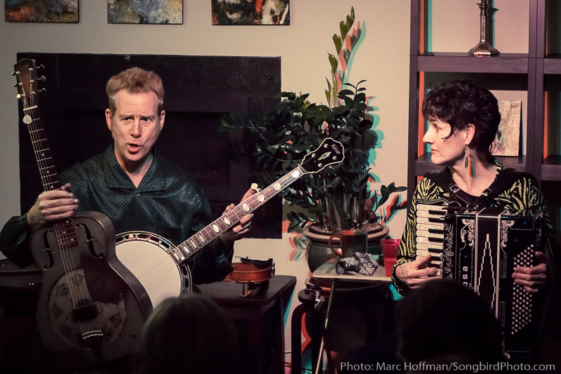 Miles and Karina played the Duvall House Concerts Series on Saturday, January 27, 2018