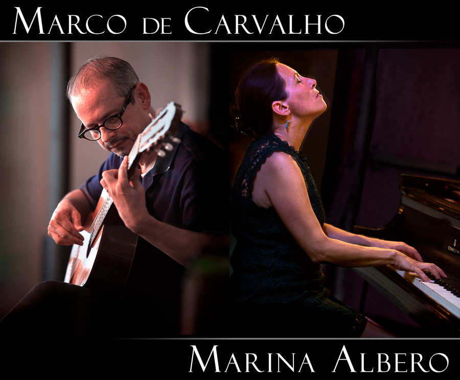 Marco de Carvalho and Marina Albero perform July 15 at Duvall House Concerts. Photos by Marc Hoffman (www.songbirdphoto.com)