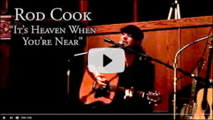 See a video clip of Rod Cook in a live performance.