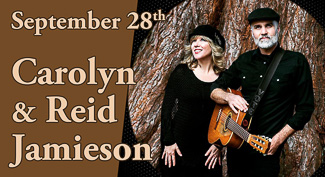 Carolyn and Reid Jamieson perform at Duvall House Concerts September 28, 2019.