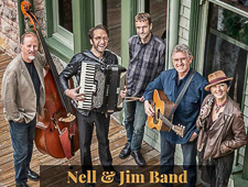 The Nell and Jim Band perform at Duvall House Concerts on July 14, 2019.