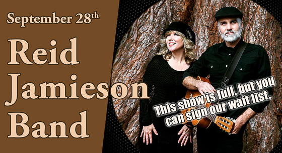 Reid Jamieson and Carolyn Victoria Mill perform at Duvall House Concerts on September 28, 2019