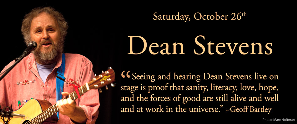 Dean Stevens performs at Duvall House Concerts on October 26, 2019